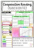 Cooperative Reading Pack - Posters-Fiction & NonFiction Task Mats -Organisation