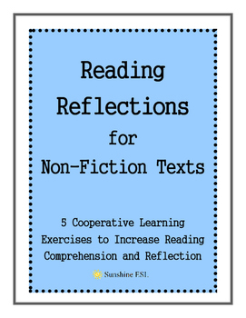 Cooperative Reading with Non-Fiction