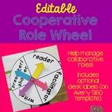 Cooperative Roles Rotating Wheel