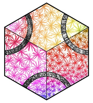 Cooperative Tessellation Kaleidoscope Mosaic