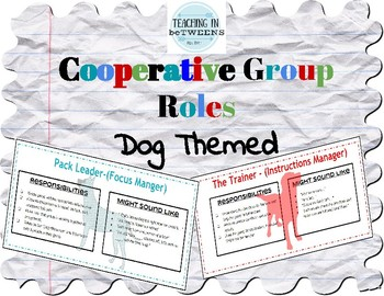 Cooperative group roles - Two Sets