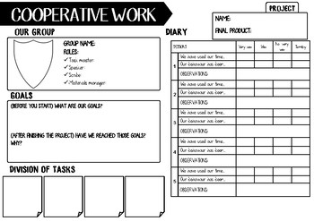 Cooperative learning- Journal- Roles