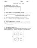 Coordiante Plane Quiz- 5GA1 & 5GA2