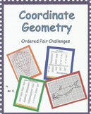 Coordinate Geometry - Ordered Pair Challenges