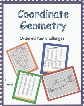 Coordinate Geometry - Ordered Pair Challenges