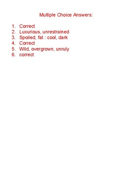 Coordinate Adjective Practice