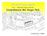 Coordinate Algebra Unit 1 Bell-Ringer Pack (Relationships Between Quantities)