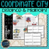 Coordinate Distance and Midpoint Activity | Geometry