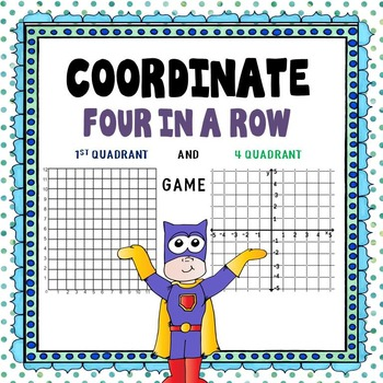 Coordinate Four in a Row - Game
