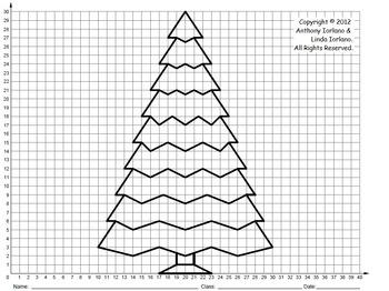 Christmas Tree On Graph Paper Mokka Commongroundsapex Co