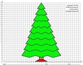 Christmas Tree (Middle School), Coordinate Drawing & Graph