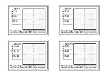 Coordinate Geometric All Transformations Intro