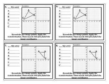 Coordinate Geometric Reflections Intro