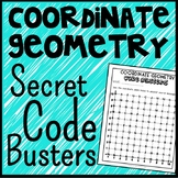 Coordinate Geometry Code Busters, First Quadrant Coordinate Plane Activity