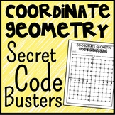 Coordinate Geometry Code Busters, Four Quadrant Coordinate Plane Activity