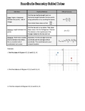Coordinate Geometry Guided Notes - Errors! Use store's free Docs version instead