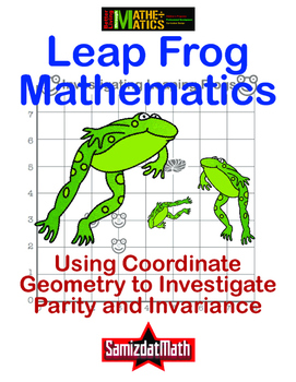 Coordinate Geometry, Parity and Invariance: Leaping Frogs!