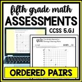Coordinate Geometry Quiz: Plotting & Naming Points on Coordinate Plane (5.G.1)