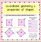 Coordinate Geometry & Shape Properties