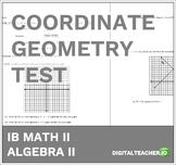 Coordinate Geometry Test
