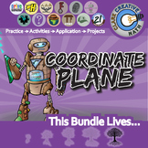 Coordinate Geometry & Transformations -- Geometry Curriculum Unit Bundle