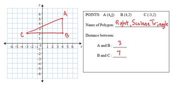 Coordinate Geometry and Finding Distance on the Coordinate Axes