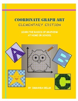 Coordinate Graph Art: Elementary Edition - Complete Book