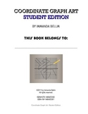 Coordinate Graph Art for Grade 6-8: Student Edition