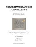 Coordinate Graph Art for Grades 6-8: Teacher Edition