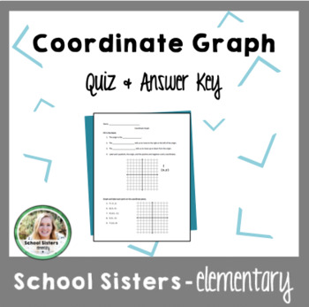 Coordinate Graph Quiz & Answer Key