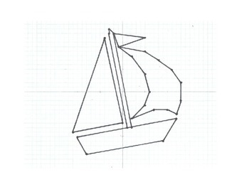 Coordinate Graph - Sailboat
