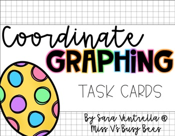 Coordinate Graph Task Cards