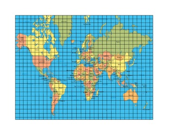 Coordinate Graph using the World!