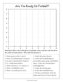 5th Grade Ordered Pairs Graphing Worksheets 5.G.A.1