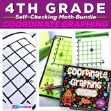 Coordinate Graphing Activity Bundle (CCSS 5.OA.3, 5.G.1)