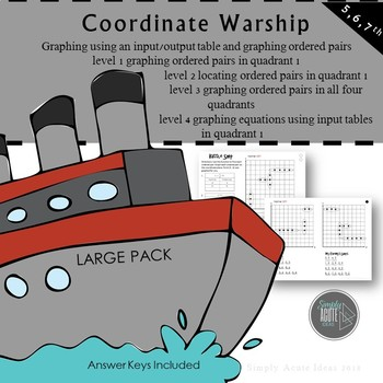 Coordinate Graphing Warship