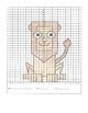 Coordinate Graphing Cartoon Animals- 6 Pictures,  in Quadr