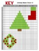 Coordinate Graphing Christmas Mystery Picture Packet