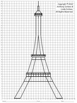 Coordinate Graphing (Eiffel Tower / Paris, France / Landmark / Monument)