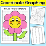 Flower Coordinate Graphing Picture - Mystery Picture Spring Math Activity