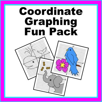 Coordinate Graphing Fun Pack