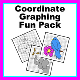Coordinate Graphing Pictures Fun Pack