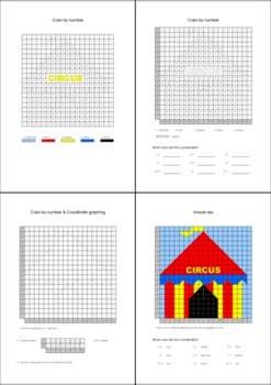 Coordinate Graphing Ordered Pairs Hidden Picture
