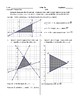 Coordinate Graphing Inequalities and Area of a Shaded Region