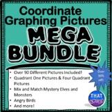 Coordinate Graphing Pictures MEGA Bundle
