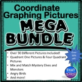 Coordinate Plane Graphing Pictures MEGA Bundle