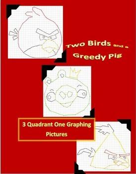 Coordinate Plane Graphing Pictures MEGA Bundle