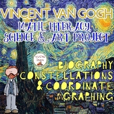 Coordinate Graphing Math, Art, Literacy & Science Project