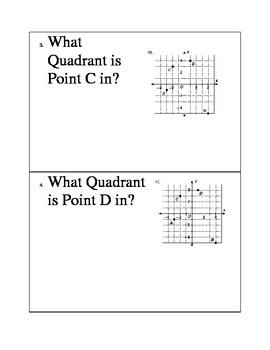 Coordinate Graphing Math Toss