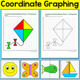 Coordinate Graphing Ordered Pairs Mystery Pictures: Bird,